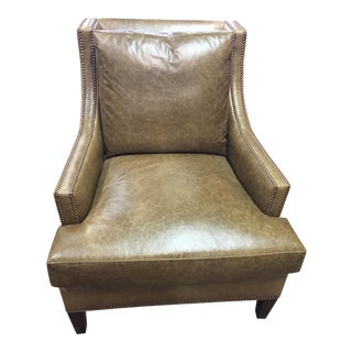 Thyme Leather Lounge Chair