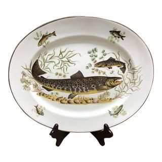 English Bone China Fish Platter