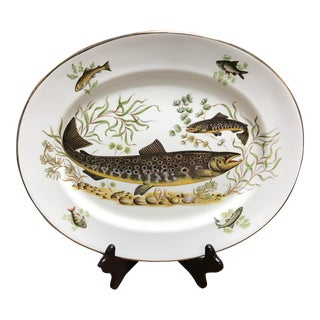 English Bone China Fish Platter