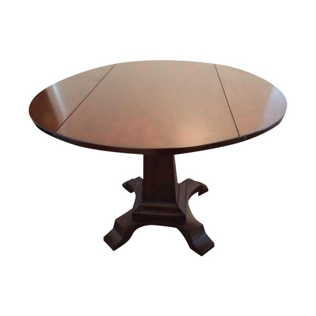 Solid-Wood Dining Table And Side Table - Image 1 of 5