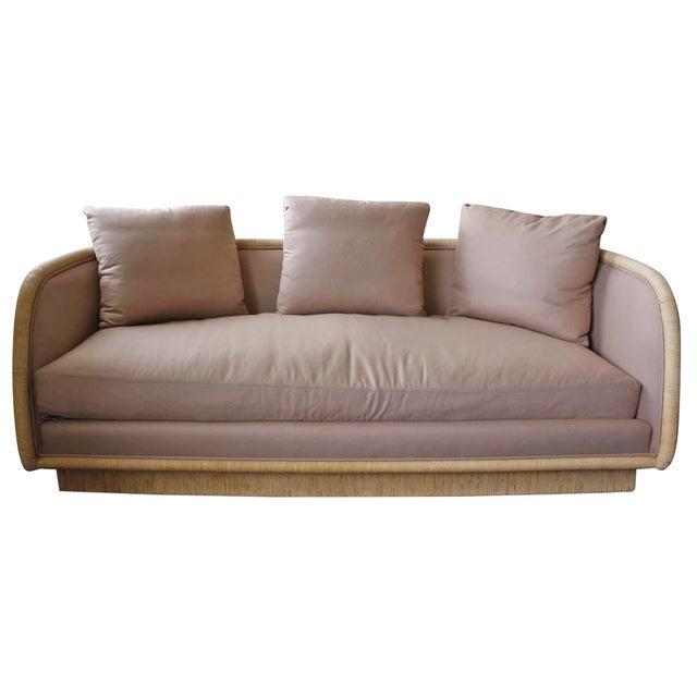 McGuire Laura Kirar Coastal Upholstered Sofa - Image 1 of 6