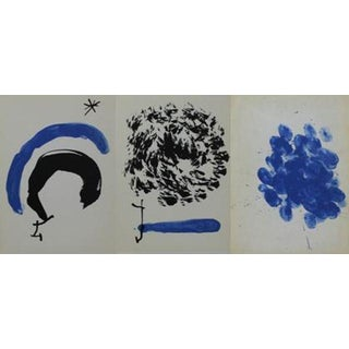 1962 Joan Miro Lithographs- Set of 3