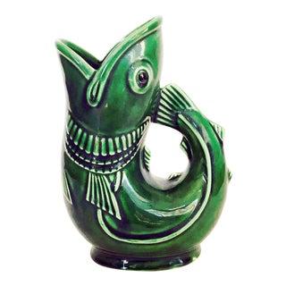 Vintage Fish Pitcher Vase