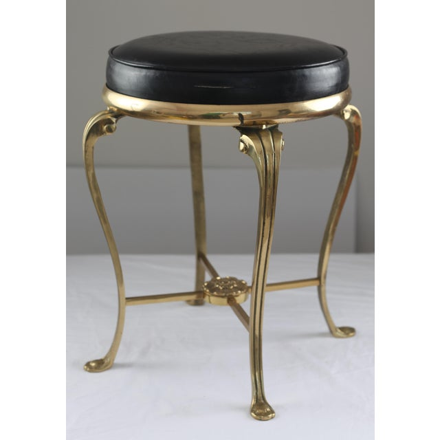 Hollywood Regency Style Vanity Stool - Image 2 of 7