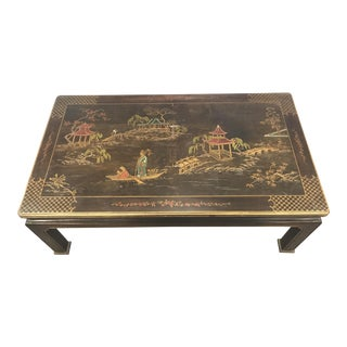Henredon Asian Chinoiserie Inlaid Coffee Table