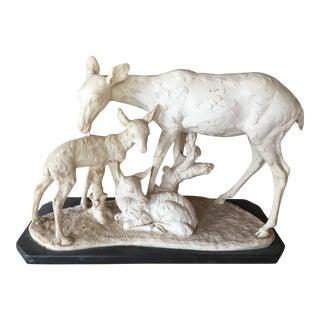 Italian Deer Statuary