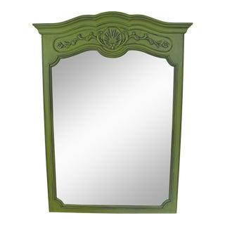 Vintage Green Mirror