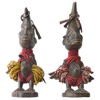 """Nigerian """"ère ìbejì"""" Twin Figures - A Pair"""
