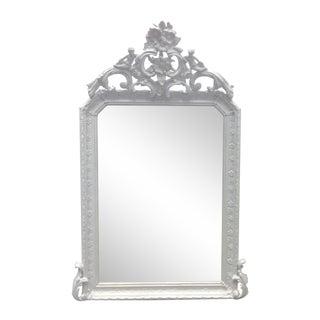 French Late 19th Century Louis XVI Wall Mirror