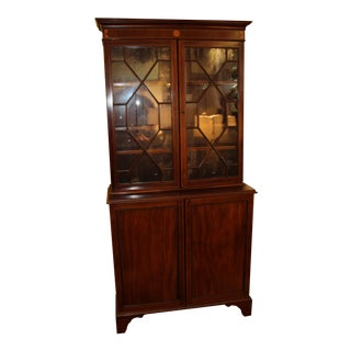 Breakfront Cabinet with Glass Doors