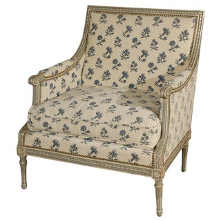 19th Century French, Marquis Chair