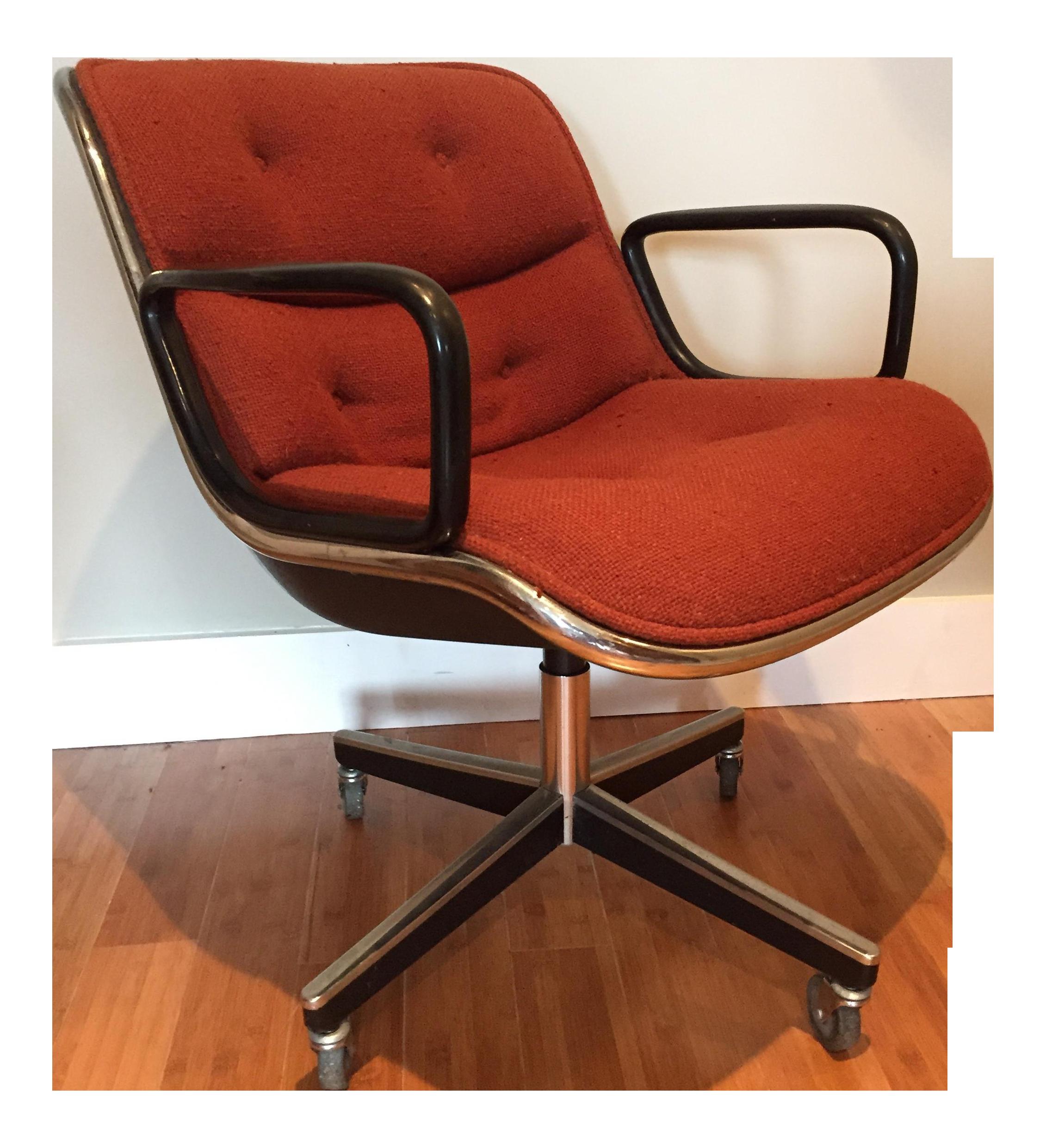 Vintage MidCentury Knoll Pollock ChairChairish