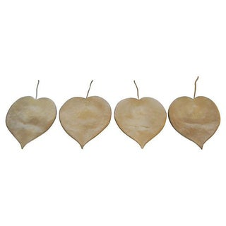French Leaf Shape Sconces - 4