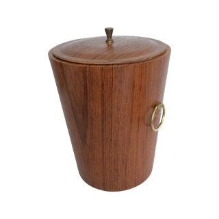 Mid-Century Swedish Teak Ice Bucket