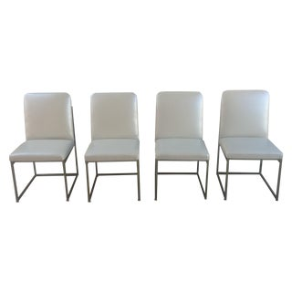 Milo Baughman Architectural Box Framed Chairs -S/4