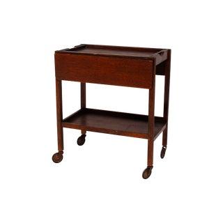Mid-Century Modern Bar & Tea Cart