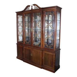 Vintage Used Thomasville China And Display Cabinets