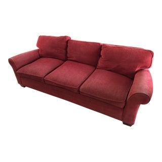 Lee Furniture Red Sofa