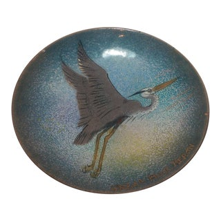Great Blue Heron Copper Plate