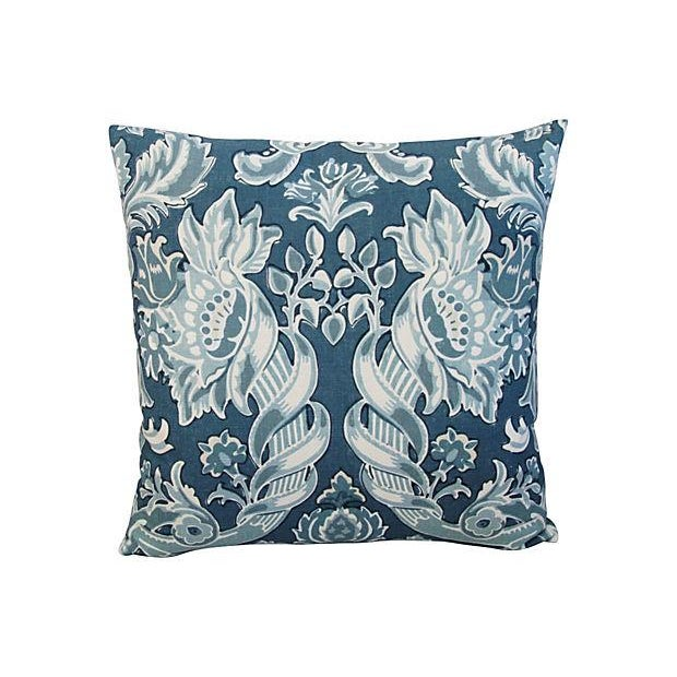 Custom Kravet Lorton Linen Pillows - A Pair - Image 4 of 4