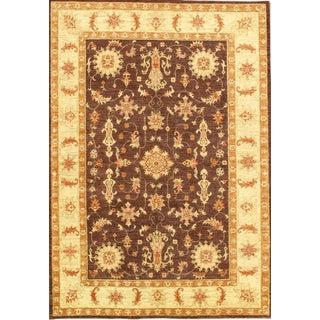"Pasargad N Y Hand-Knotted Farahan Area Rug - 5'6"" X 7'11"""