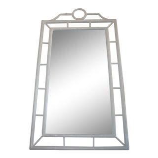 Mahogany Mirror, Chinoiserie Style
