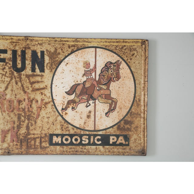 Image of Have Fun At Sterling's Rocky Vintage Metal Sign