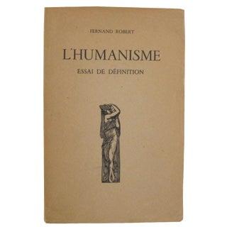 L'Humanisme by Fernand Robert