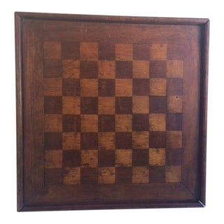 Primitive Chess & Checker Board