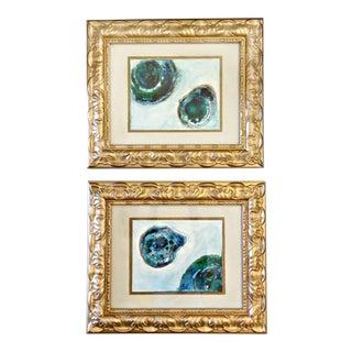 Pair of Original Watercolor Paintings