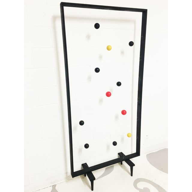 Mid-Century Modern Style Screen Room Divider - Image 4 of 7