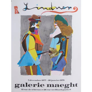 1977 Lindner (Man and Woman), Galerie Maeght