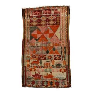 Caravan Vintage Berber Boujaad Moroccan Rug, 6'2 x 10'5