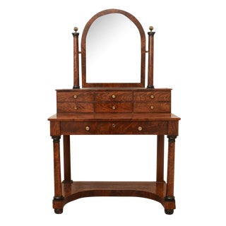 French Antique Empire to Biedermeier Transitional Dressing Table C. 1820