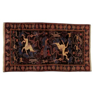 Antique Persian Baluchi Rug - 3′9″ × 6′7″