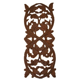Early 1900's Wrought Iron Wall Decor
