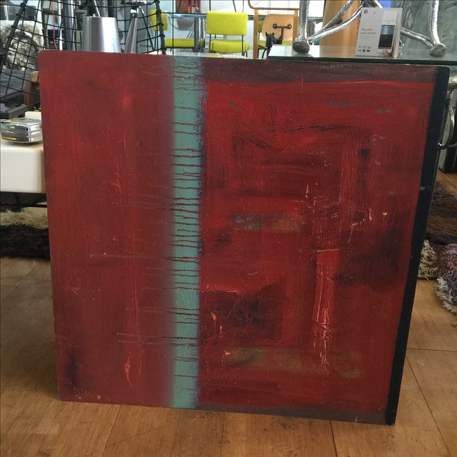 Red Abstract Painting by Trung Quo Tran - Image 4 of 6