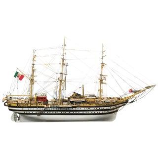 Amerigo Vespucci Wooden Model Ship