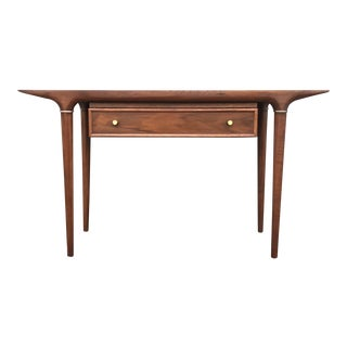 Lane Danish Modern Style Console Table