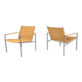 Martin Visser Pair of Mid-Century Modern Lounge Chairs
