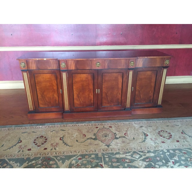 Flame Mahogany Side Cabinet - Image 2 of 10