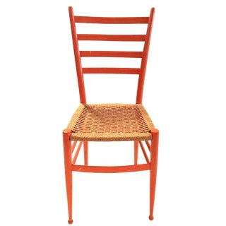 Gio Ponti Italian Ladder-Back Chair