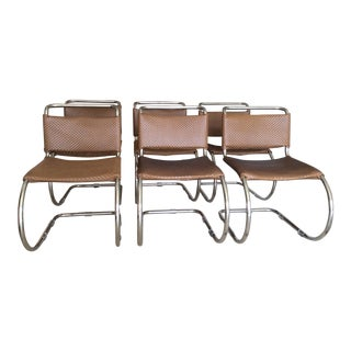 Mies Van Der Rohe Dining Chairs - Set of 6