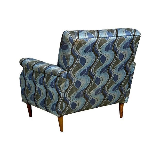 Image of 1960's Tufted Lounge Chair
