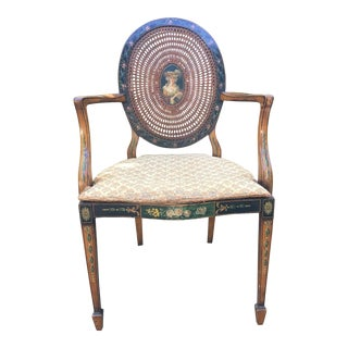 Antique Caned Side Chair