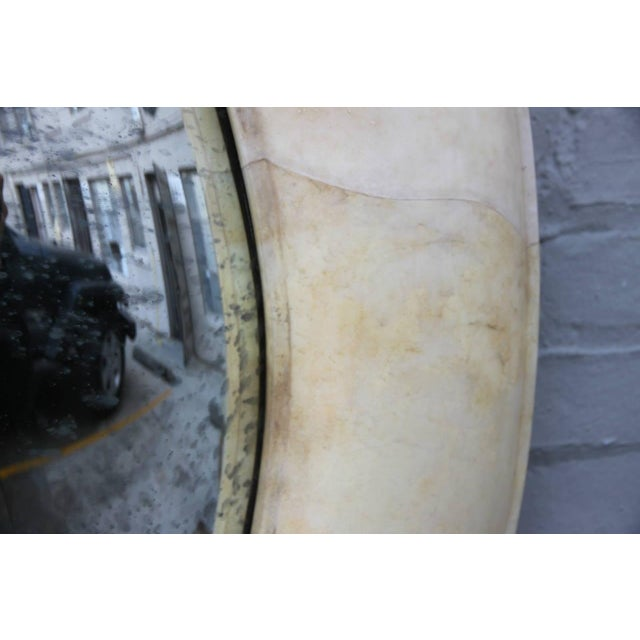 Lacquered Goatskin Mirror - Image 4 of 6