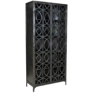 Industrial Iron Work Cabinet
