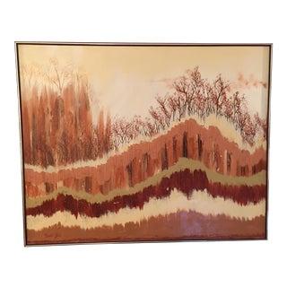 Mid Century Landscape Painting