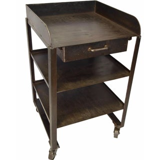 Steel Industrial Restaurant Side Table