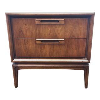 Vintage Modern Walnut Nightstand